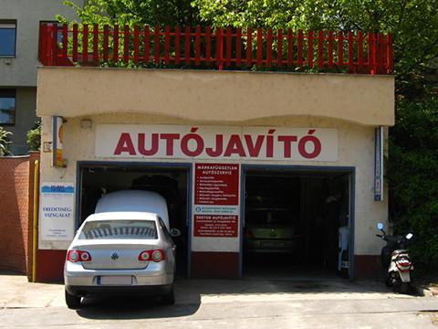Autójavító, Budapest, Törökvész u. 46c